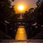 光の道・宮地嶽神社