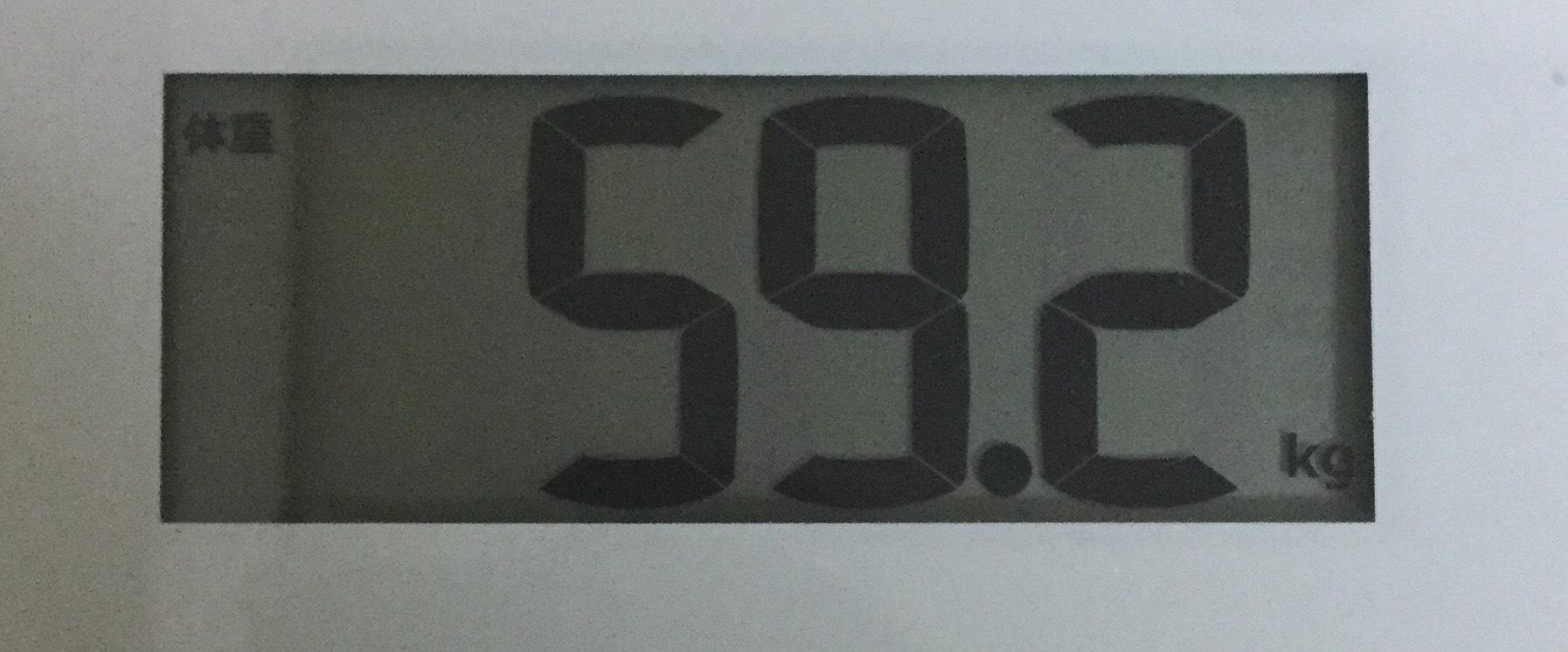 ライザップが終わった日の体重