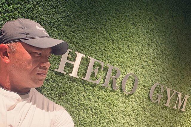 シンさん HERO GYM